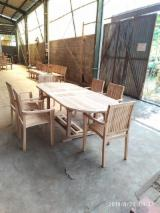 Vender Conjuntos Para Jardim Tradicional Madeira Maciça Asiática Teka Central Java Indonésia