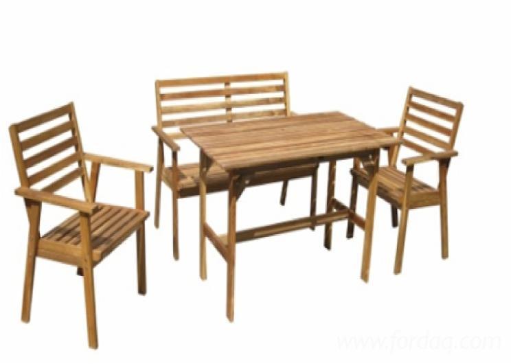 Acacia Wood Garden Set for Sale, Design Style