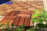 Acacia Wood Decking Tiles (Patio/Garden/Outdoor), 19/24 mm