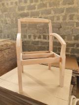 Cadeira, Elementos De Assento Faia