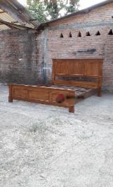 Wholesale  Beds - Teak Bed For Sale, 160x200 cm