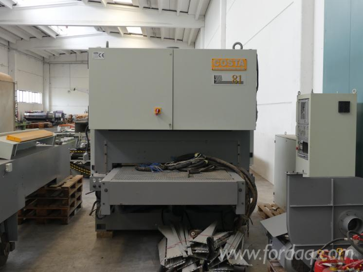 Used-Costa-Levigatrici-81-TR-CT-1350--Wide-Belt-Sander