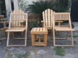 null - 花园椅, 当代的, 12 - 48 片 识别 – 1次