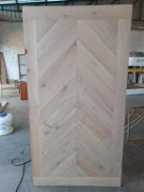 Rustic White Oak Door 35, 38, 45 MM thick for residential sliding, living room and main door