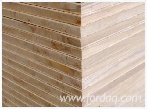 Vender Painéis De Carpintaria - Painéis Laminados (blockboard) Albizia Falcata 18 mm