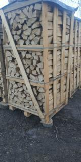 Esche Brennholz Gespalten