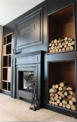 Find best timber supplies on Fordaq - Tugra Mobilya - We Produce MDF Fireplace Furniture