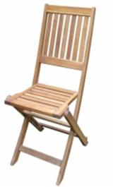 Find best timber supplies on Fordaq - Forexco Quang Nam - Acacia Folding Chair, 570x440x945 mm