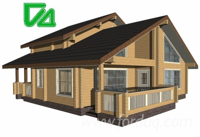 Glued-Beam-Houses