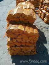 劈切薪材 – 未劈切 碳材/开裂原木 道格拉斯冷杉, 云杉