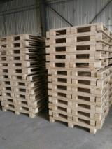 Find best timber supplies on Fordaq - Gia Tran Wood - Pine/Acacia Pallets, 18-20 mm