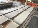 Hardwood  Unedged Timber - Flitches - Boules White Ash - Brown/White Ash Unedged Lumber, 30+ mm