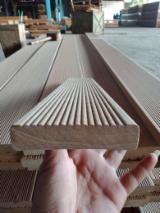 Buy Anti-Slip Decking from Indonesia - Bangkirai Yellow Balau Decking 19 mm