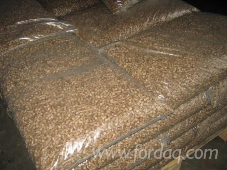 Vender Pellets De Madeira Freixo Marróm , Faia, Abedul Ucrânia