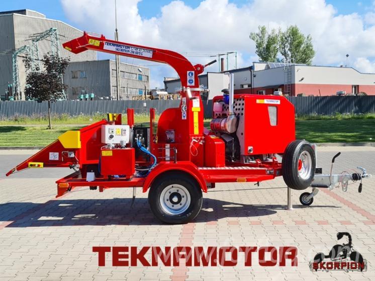 Vend-Machine-%C3%80-Faire-Des-Plaquettes-De-Bois-Teknamotor-Skorpion-250-SDTG-Neuf