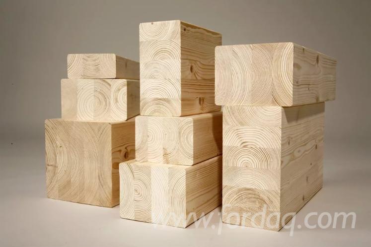 Spruce-Glulam-Panels