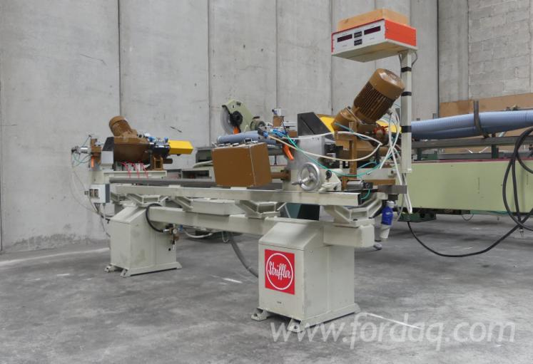 Log-Conversion-And-Resawing-Machines---Other-STRIFFLER-2750-Polovna