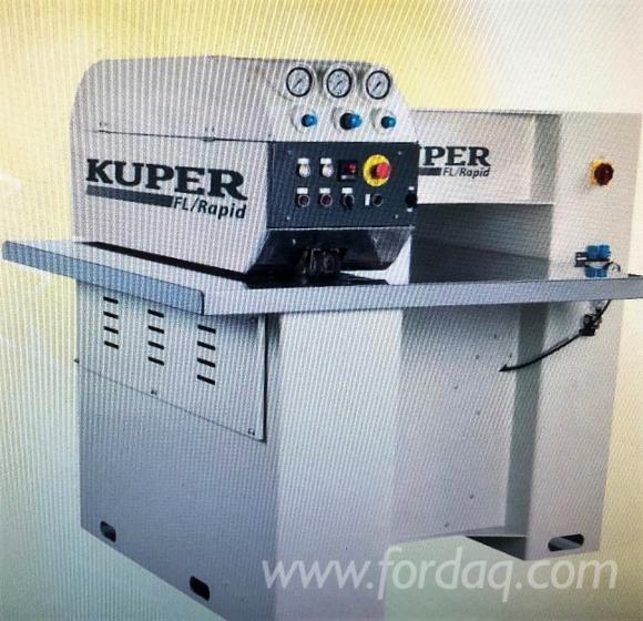 Vendo-Giuntatrici-Perimpiallacciatura-Kuper-FL-RAPID-Usato