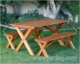 Find best timber supplies on Fordaq - Forexco Quang Nam - Acacia Dining Set With Natural Oil Finish