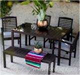 Find best timber supplies on Fordaq - Forexco Quang Nam - Acacia Dining Set, 1397x800x749 mm