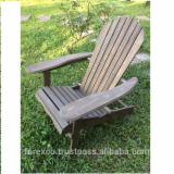 Acacia Adirondack Chair With Oil Finish