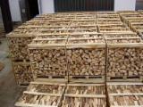 Dry Beech/Oak Firewood On Pallets