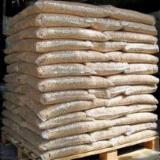 White Fir Pellets In 15kg Bags, Diameter 6 mm