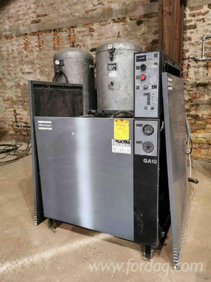 Used-Atlas-Copco-GA10-FX3-Compressing-Machine