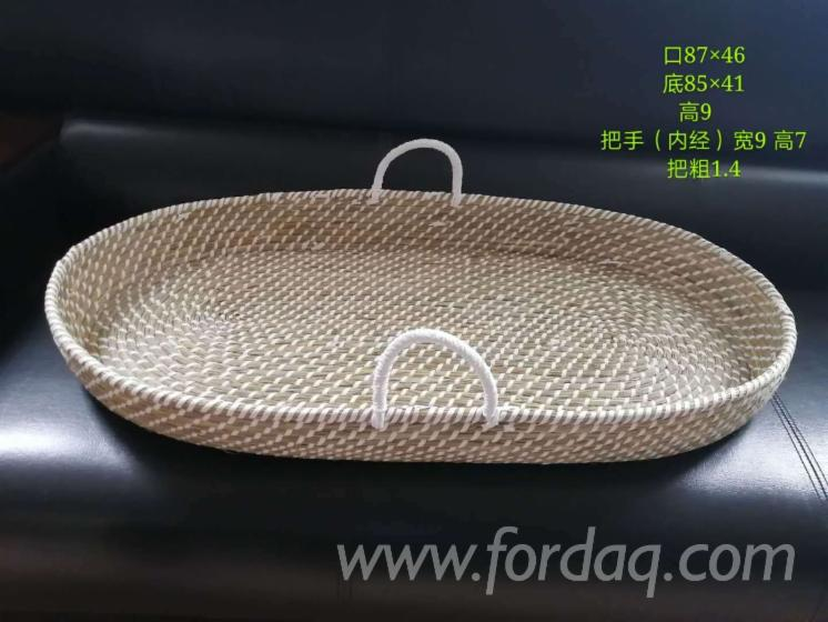 Wood-Cotton-Pet-Basket-For