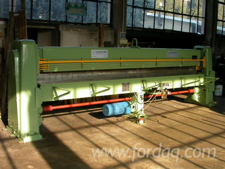 Gebraucht-Angelo-Cremona-TT1200-Furnierschere-Zu-Verkaufen