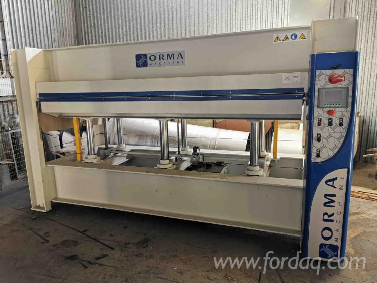 Furnierpresse-3000x1300mm