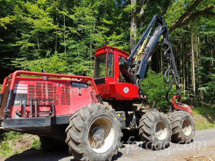 Used-Komatsu-911-5-Harvester