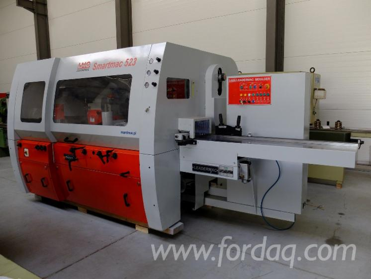 Moulding-Machines-For-Three--And-Four-side-Machining-LEADERMAC-Smartmac-523U-Polovna