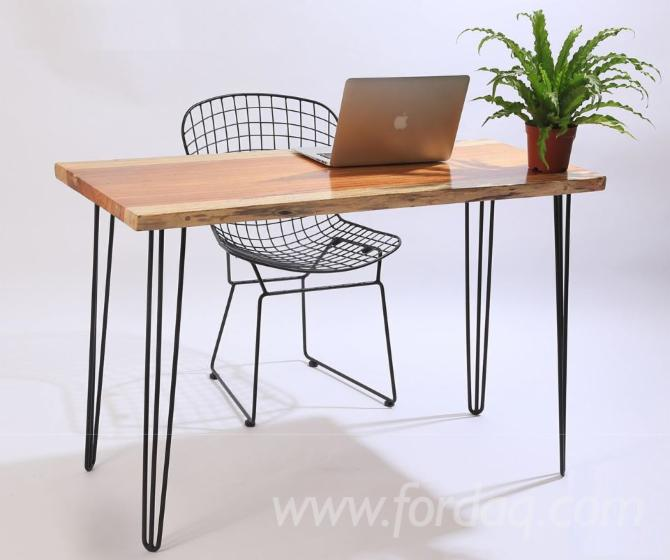 Vend-Tables-Traditionnel-Feuillus-Nord-am%C3%A9ricains-Fr%C3%AAne--Ch%C3%AAne-Rouge