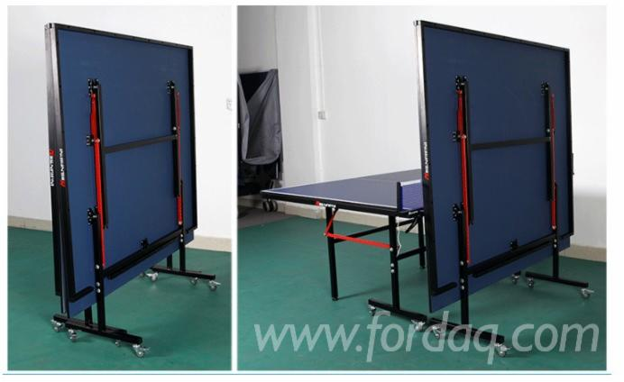 Indoor-Foldable-Blue-Color-Table-Tennis