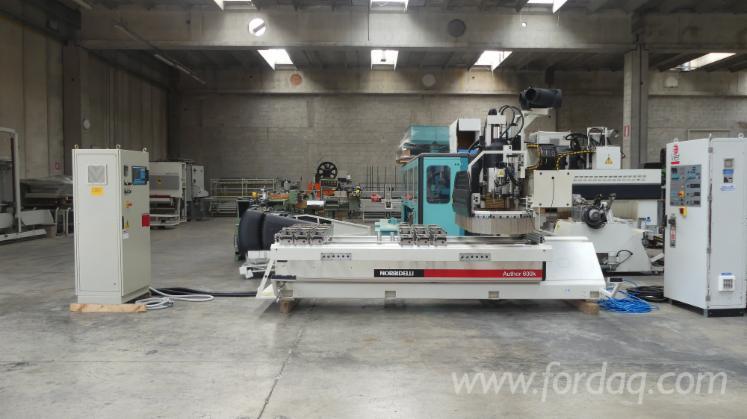 Gebraucht-Morbidelli-Author-600-K-1999-CNC-Bearbeitungszentren-Zu-Verkaufen