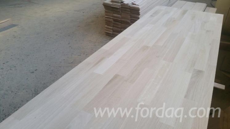 1-Schicht-Massivholzplatten