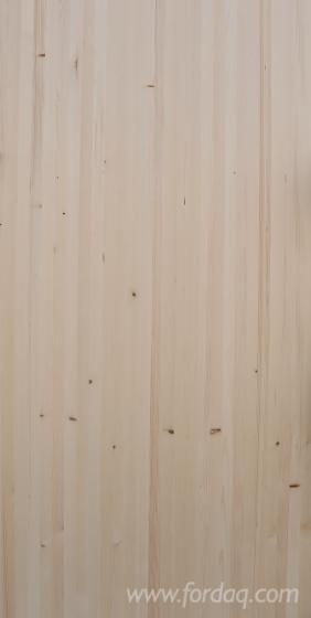 1-laags-Massief-Houten-Paneel--Den---Grenenhout