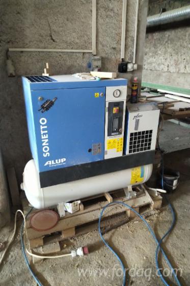 Vend-Appareil-%C3%80-Rectifier-Et-%C3%89craser-ALUP-Kompressoren-SONETTO-270-10-Neuf