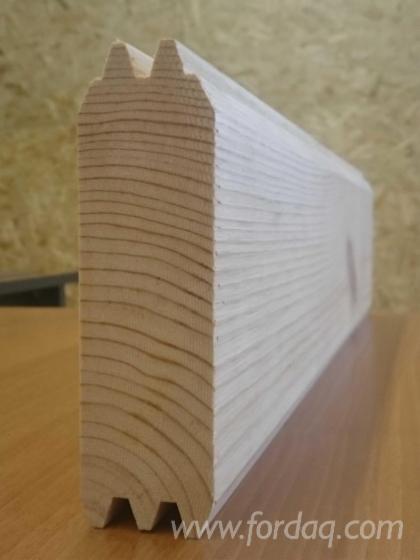 Vend-Montants-Profil%C3%A9s-Pin---Bois-Rouge