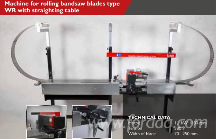 Machine-for-Rolling-Bandsaw-Blades-with-Straighting