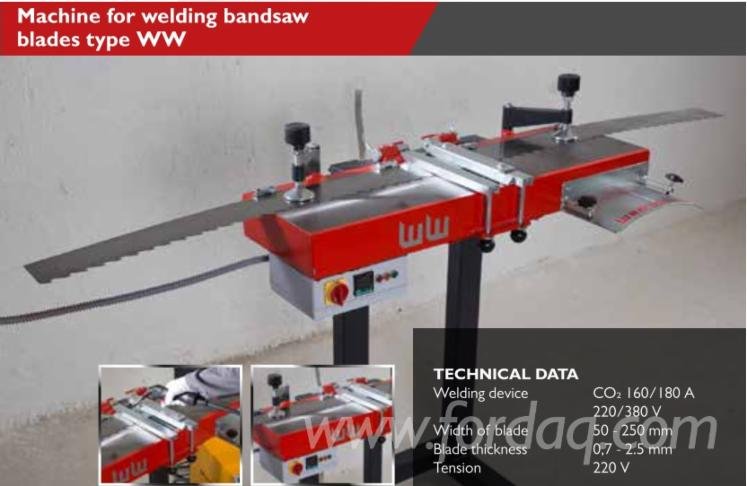 Machine-for-Welding-Bandsaw