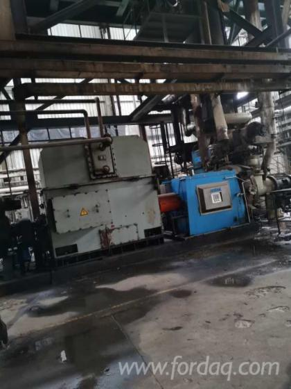 Used--MDF-continuous-press-line