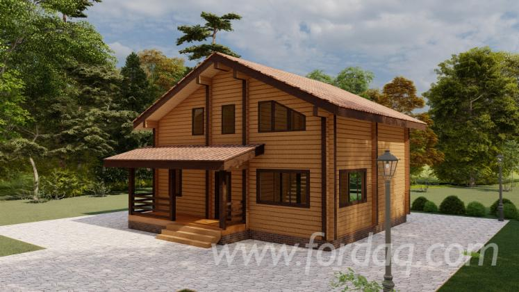 Spruce-Glued-Profiled-Lumber---Laminated-Veneer-Lumber-House