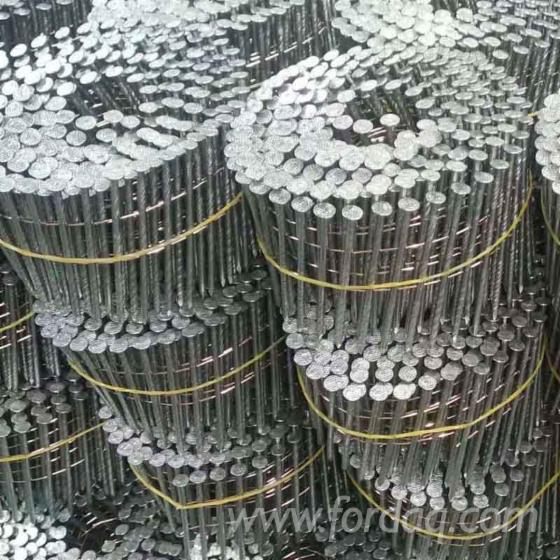 Screw-Shank-Coil-Nails-for