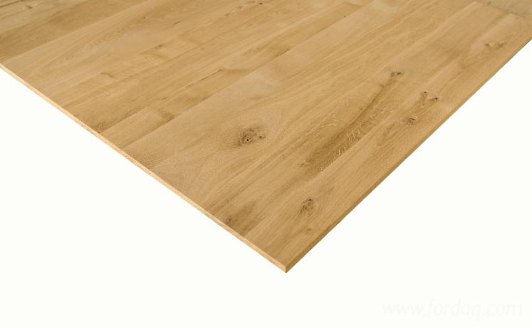 Oak--Edge-Glued-Panels