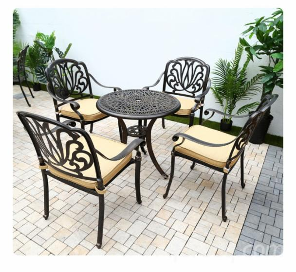 Cast-Aluminum-Garden-Furniture
