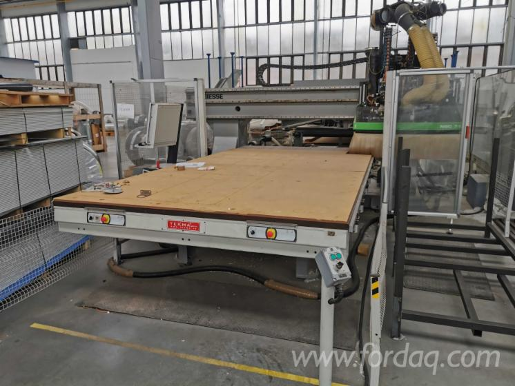 Nesting-CNC-Working-Centre-Throughfeed-Biesse-Excel-NBC-712