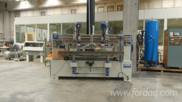 Used-Comec-MMS-20-2C---2UF--Mortising-Machine