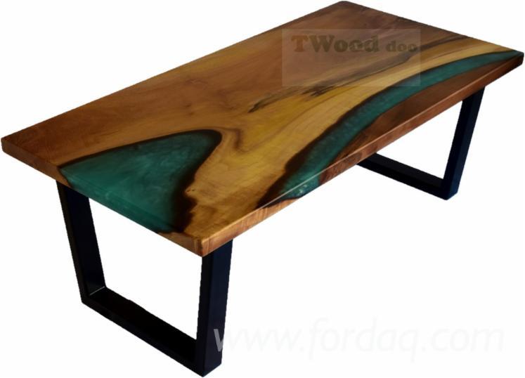 Vend-Tables-Art---Crafts-Mission-Feuillus-Europ%C3%A9ens-Peuplier-Noir